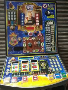 Al Murray - Beautiful British Game - £100 Jackpot Pub Fruit Machine